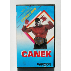 Canek Idolos De La Lucha Libre La Aficion Vhs Mexicano 1991