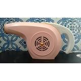 Secador De Cabelos Arno Anos 60/70 (rosa) Funcionando 110 V