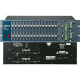 Ashly Gqx-3102 Ecualizador Gráfico Stereo 31 Bandas X Canal