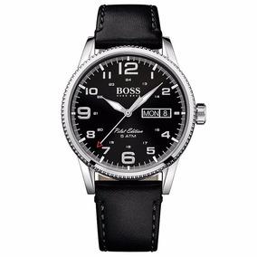 Reloj Hugo Boss Pilot Sport Cara Negra 1513330 Time Square
