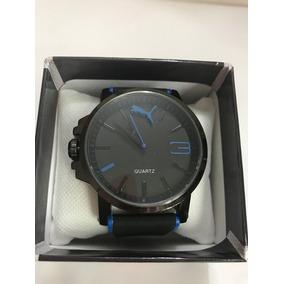 Reloj Puma Ultrasize Black. C. Detalles Azul