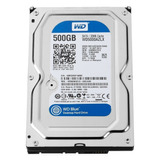 Disco Duro Hdd 3.5 Wd Blue 500gb Sata3 7200 Rpm Gtía 2 Años.