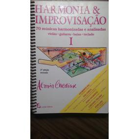2 Livros - Harmonia E Improvisação - Almir Chediak Vol 1 E 2