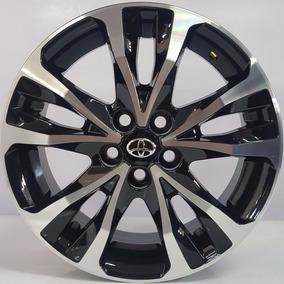 Rodas Corolla 2018 16 Xrs Pcd Xei Altis + Porcas + Bicos