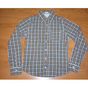 Abercrombie & Fitch Camisas Leñadoras Original