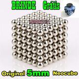 Neocube Cubo Magnético 216 Esferas 5mm Imã Neodímio Boxmetal