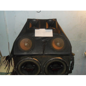 2bajos Pioneer 12 Doble Bobina Con Cajón Incluido Negociable