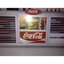 Anuncios Menús Luminosos Para Restaurante / Cafeteria