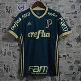 Camisa adidas Palmeiras 3 17/2018 Frete Gratis