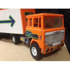 Caminhão Carreta Scania Elka Baú Elkazum Conservado Veja