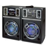 Caixa De Som Amplificadora Bluetooth 500w Rms Vicini, Entrad