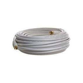 Cable Coaxial Rg6 + Conectores De Presión Directv Supercable