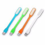 Lampara Led Flexible Entrada Usb Colores! Compu Vichis