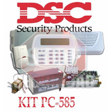 Kit Alarma Dsc-585 Con Teclado Lcd Batería E Infrarrojo Dsc.