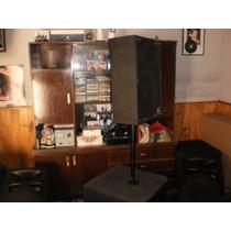 Bafles Ev Y Eightensound.excelente Sistema-shows,djs.bares..