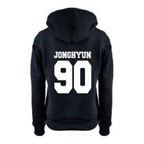 Moletom Feminino Banda Shinee Kpop Jonghyun 90 Kpop Grupo