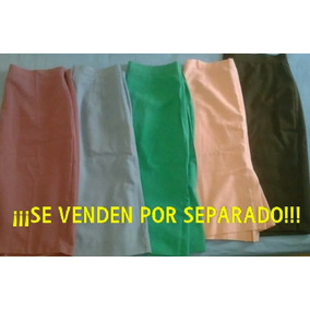 Faldas Casuales De Dama Talla Plus Xl Xxl Para Gorditas!!!