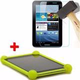 Funda Silicona + Vidrio Templado Tablet Pcbox Exo Noga Acer