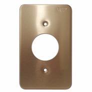 Placa Aluminio Anodizado Color Oro 35 Mm Arrow Hart 95091-d
