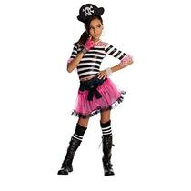 Disfraz De Pirata Para Niña Talla L