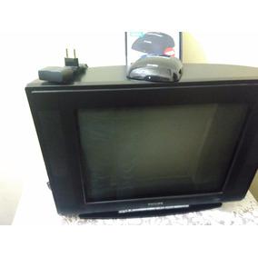 Tv Philips 21 Polegadas Com Controle E Conversor Digital