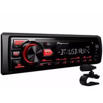 Mp3 Player Pioneer Mvh-298bt Radio Bluetooth Usb Aux - 2017