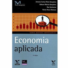 Livro Economia Aplicada Antonio Carlos Pôrto Gonçalves