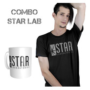 Remera Y Taza De Star Laboratories Oferta - The Flash