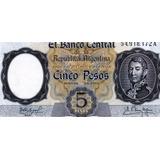 Lucas Col Argentina Billete 5 Pesos A Bot 1924