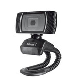 Camara Web Trust Trino Hd 8mp Negro