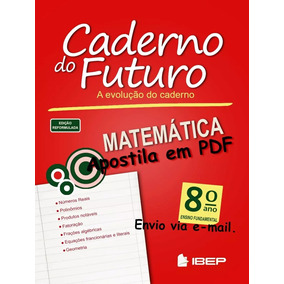 Caderno Do Futuro 8º Ano Matemática - Do Aluno