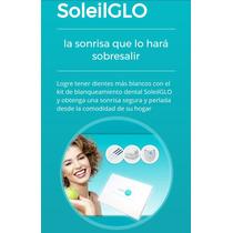 Soleil Glo Kit Blanqueamiento Dental Lámpara Sin Peróxido