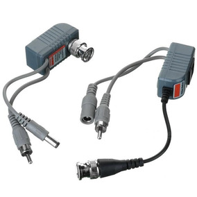 Balun Cctv Via Cat 5 Twisted Pair Audio Video Power