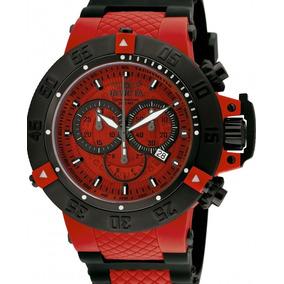Relógio Invicta Subaqua Noma Iii 0938 Vermelho Masculino