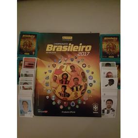 Álbum Completo Brasileirão 2017 Com Figurinhas Soltas