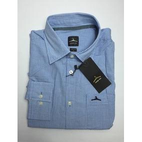 Camisa Hanger Manga Larga Rayas Unicolor Hombre Algodon