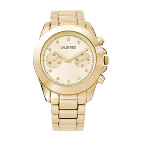 Reloj Unlisted By Kenneth Cole Gold 10029406