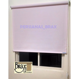Persiana Enrollable Traslúcida Color Lila American Blinds