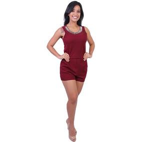 Macaquinha Feminina Com Brilho 12&g - Asya Fashion
