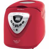 Máquina De Pão Elétrica Multipane Britânia Pão 550w Vermelha