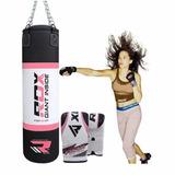 Costal De Boxeo Para Entrenamiento Rdx Mujer Mma