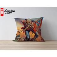Almofada Decorativa Iron Maiden The Trooper