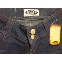 Calça Feminina Jeans R.i.19 Com Lycra