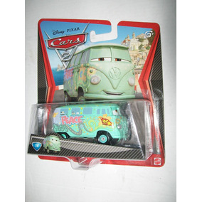 Fillmore Race Team Cars 2 Disney Pixar Volkswagen Combi +h