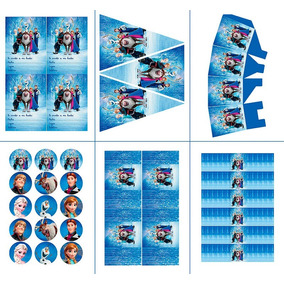 Kit De Fiesta Imprimible De Frozen