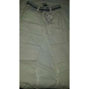 Pantalon De Lino Puro