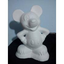 Recuerdos Alcancias De Micky Mouse Centros Mesa Paq. 12 Pza
