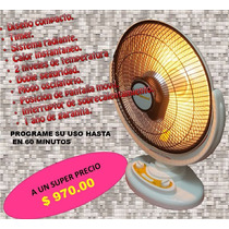 Calentador Eléctrico Oscilante Instantáneo Parabolico