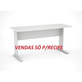 Mesa Pandin Secretária 1,21 Cinza (novo) Vendas Só P/recife