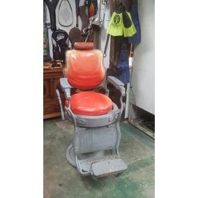Cadeira De Barbeiro Ferrante Original Década 40